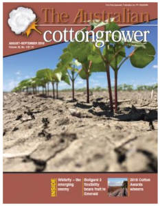 Cover of The Australian Cottongrower, September 2018